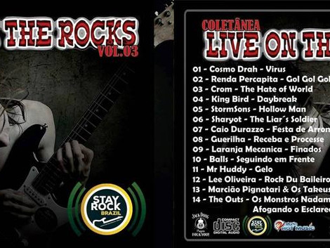 Coletanea Live on The Rocks 3