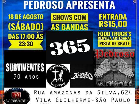 Expoentes do Rock Brasileiro agitarão a Zona Norte de SP