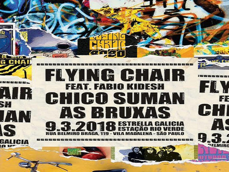 Show de lançamento do álbum 'Ao Vivo Na Cena' da banda Flying Chair