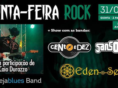 Quinta-Feira Rock no Cervejazul