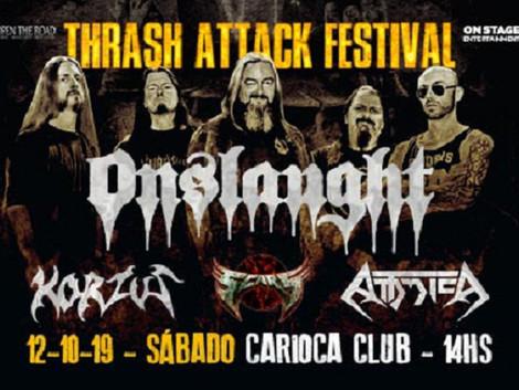Carioca Club recebe o Thrash Attack Festival em outubro