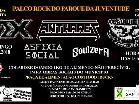 Show gratuito com bandas do ABC em Santo André