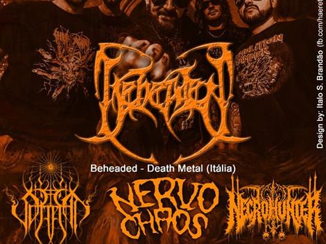Belém de São Francisco (Pernambuco) receberá a 4° edição do Brasil Rock Metal Festival