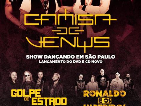 Uma Grande Festa do Rock nacional : Camisa de Venus, Golpe de Estado, Ronaldo e os Impedidos e Baran