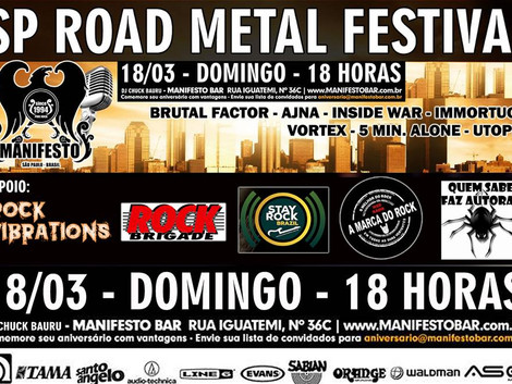 SP Road Metal Festival (São Paulo - SP)