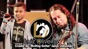 """Criador do """"Melting Guitar"""" lança videoclipe com seu filho no Dia das Crianças"""