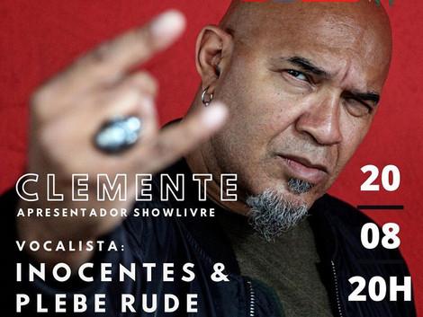 Live 20/08 - 20HS - Clemente - Plebe Rude e Inocentes