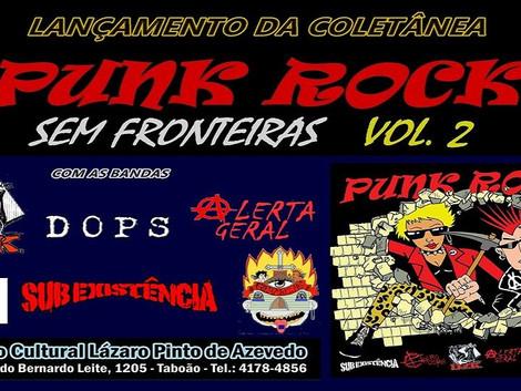 Show de lançamento da coletânea 'Punk Rock Sem Fonteiras Vol. 2' no ABC