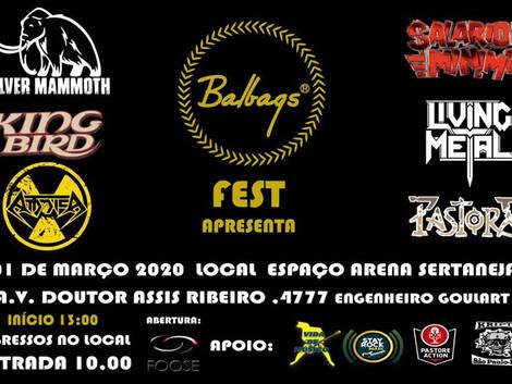 Balbags Fest 01 de Março 2020