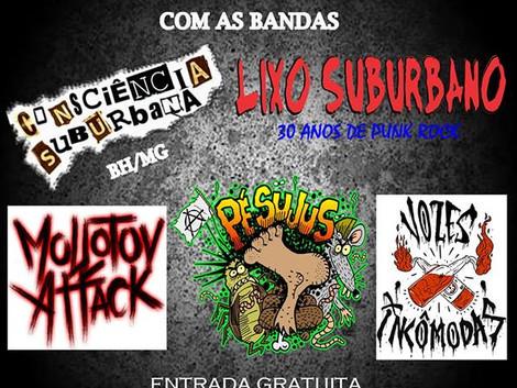 12ª edição do Punk Rock Sem Fronteiras no ABC