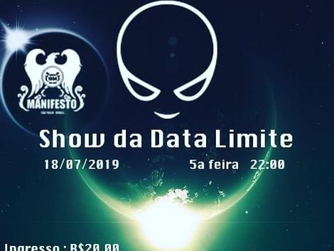 'Show da Data Limite' da banda Ultra Aliens no Manifesto Bar