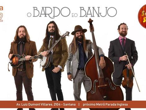 Santa Sede recebe o show da banda O Bardo e o Banjo