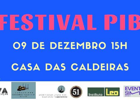 Festival PIB 2018 na Casa das Caldeiras