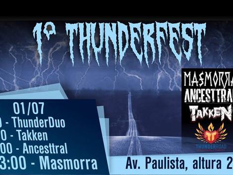 Thunder FEST #1 na Avenida Paulista