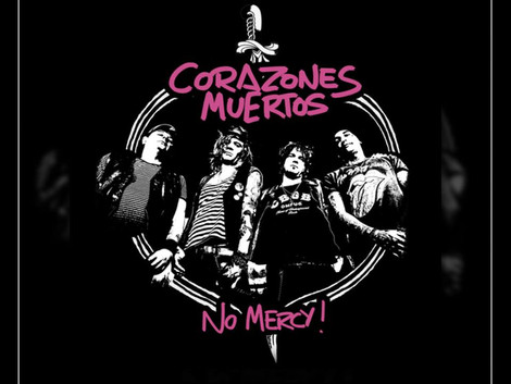 Corazones Muertos disponibiliza single da música 'No Mercy' nas plataformas digitais
