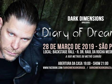 Diary of Dreams faz único show no Brasil