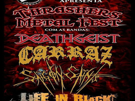 Thrashers Metal Fest no Mineiro Rock Bar