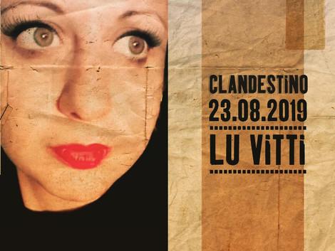 Lu Vitti ao vivo no Clandestino