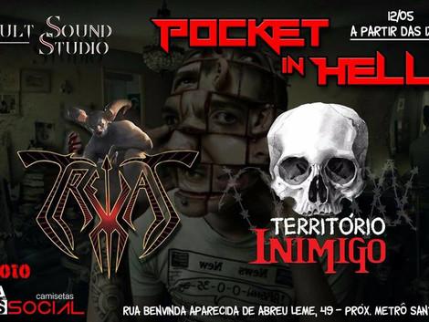 Pocket in Hell com Trevas e Território Inimigo
