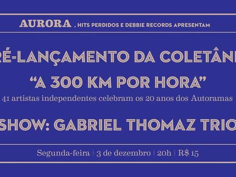 Pré-lançamento do Tributo aos Autoramas com Gabriel Thomaz Trio
