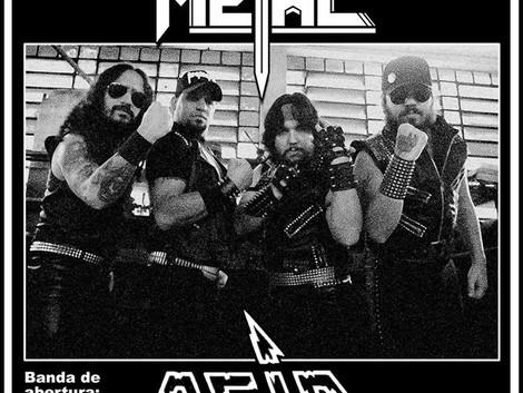 Estréia da banda Living Metal em SP