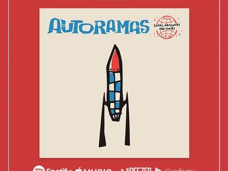 Autoramas lança novo single 'Sofas, Armchairs and Chair'