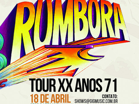 Rumbora anuncia volta com shows e novas músicas em 2019