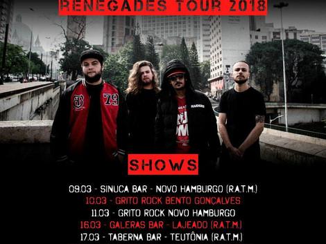 Stanka prepara turnê em março no Rio Grande do Sul