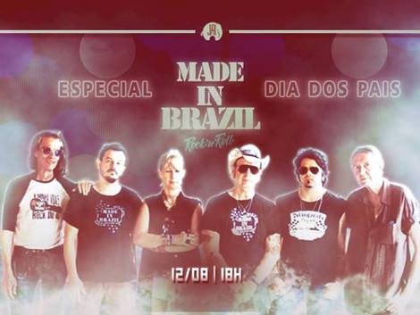 Especial Dia dos Pais com Made in Brazil no Jai Club