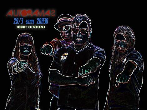Show gratuito da banda Autoramas no Sesc Jundiaí