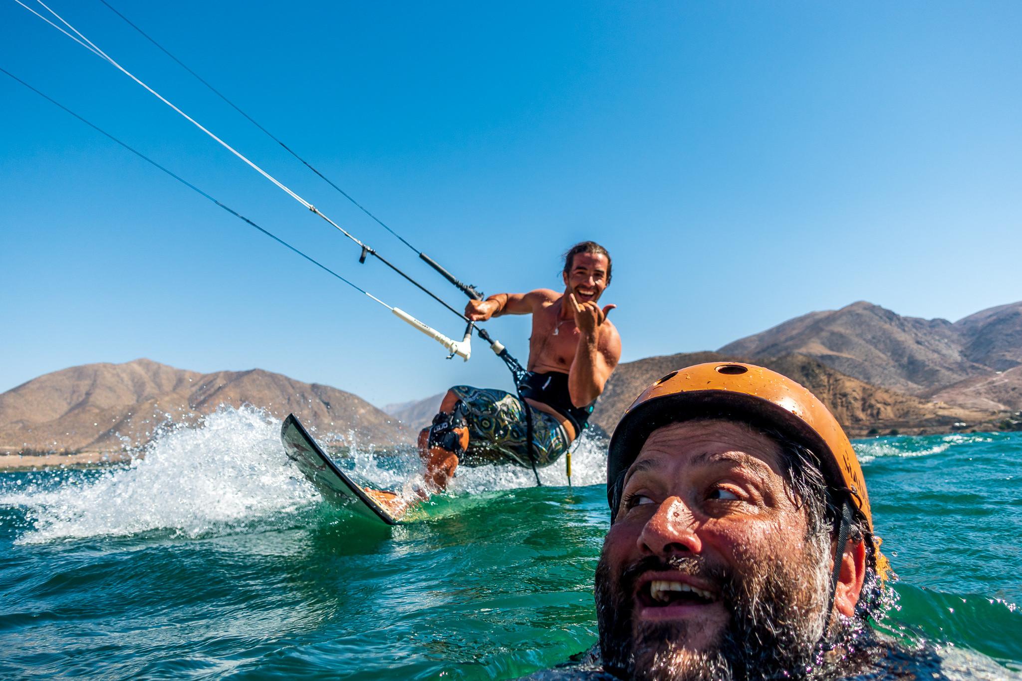 Kitesurf en Puclaro