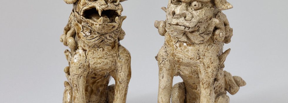 Stoneware Temple Dogs