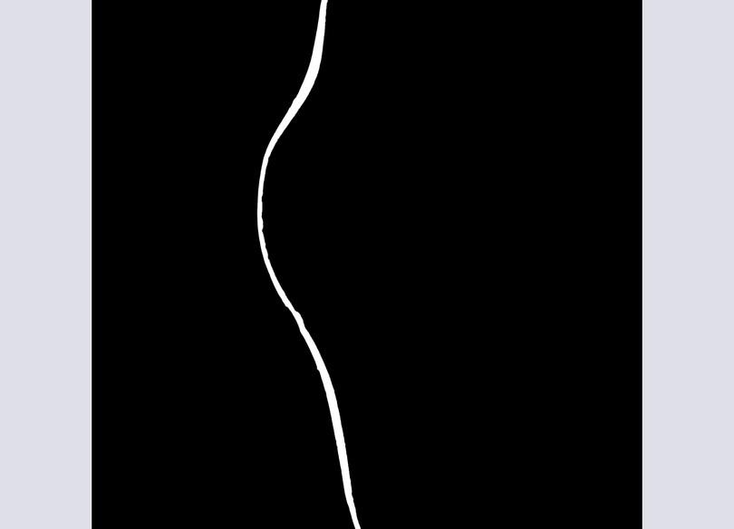 Xing Whiteware Foliate Form Plate II, Fi