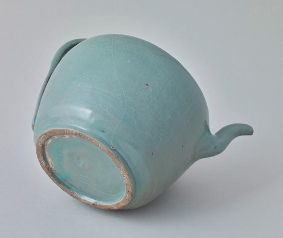 Koryo Celadon Ewer Bottom