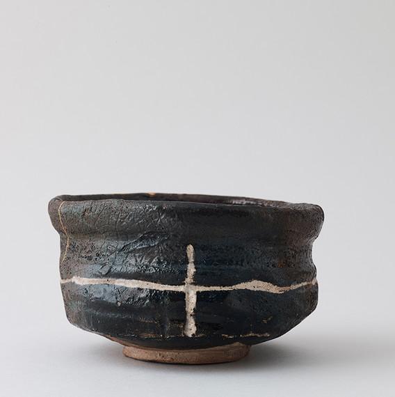 Black Oribe Tea Bowl