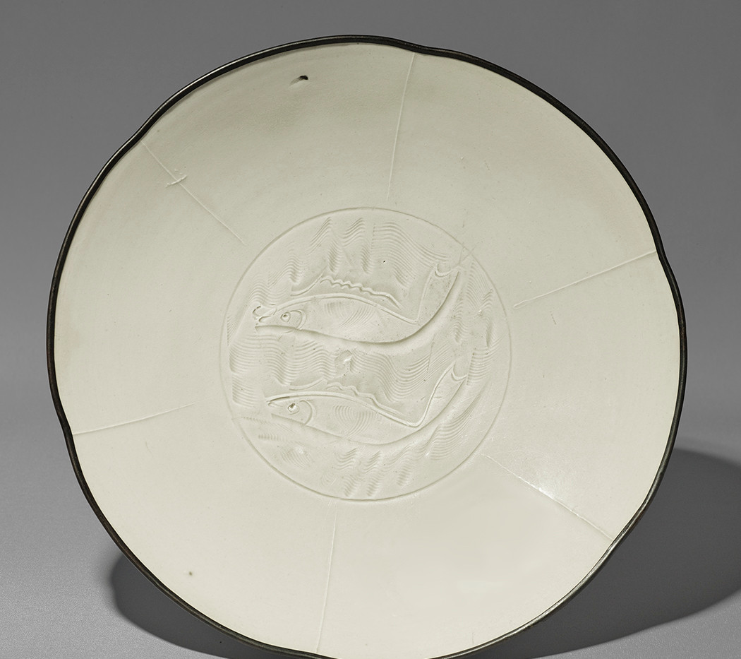Dingyao Twin Fish Plate