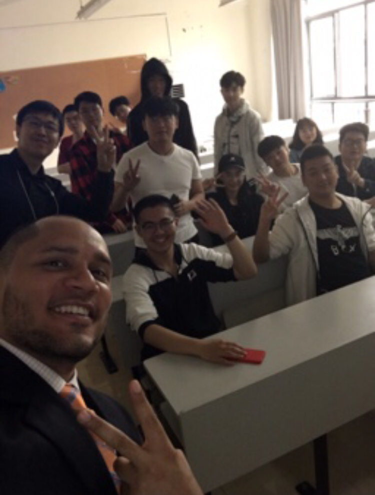 Teaching in China in May 2019