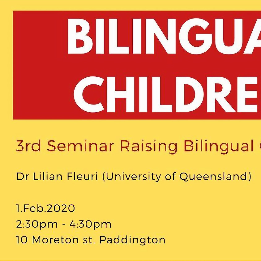 3rd Seminar Raising Bilingual Children