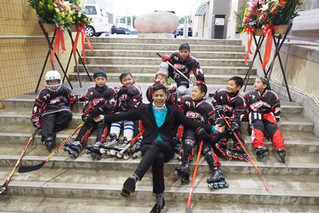 Feb 22 - Photos from the Opening Puck Drop of the 2018 Hong Kong Inline Hockey Open Championships