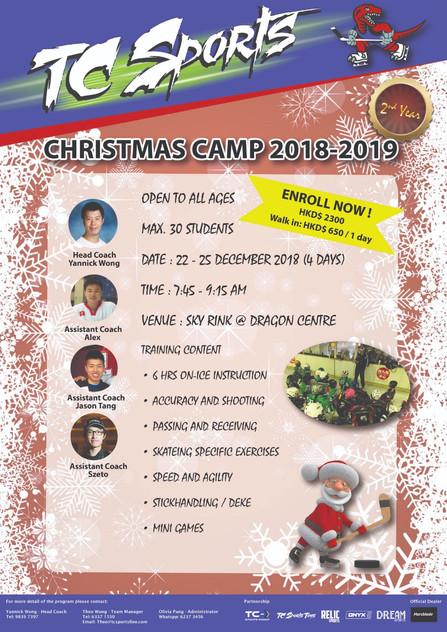 Christmas camp 2018-2019