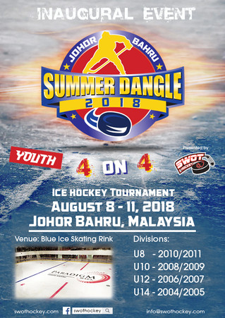 Inaugural Event - Youth 4 on 4, Ice hockey Tournament