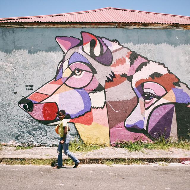 Straatfotografie Kaapstad