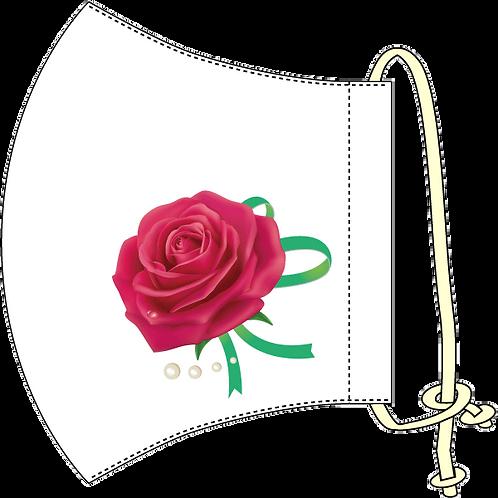 バラのワンポイント・オリジナルマスク