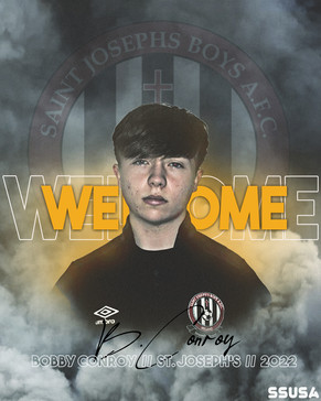 WELCOME: Bobby Conroy