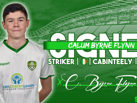 Welcome: Calum Byrne Flynn