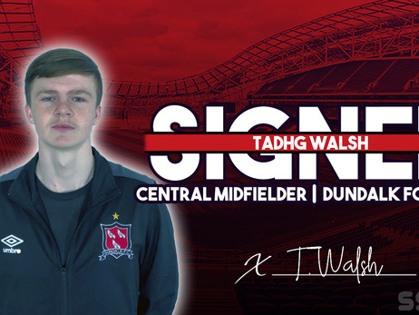 Welcome: Tadhg Walsh