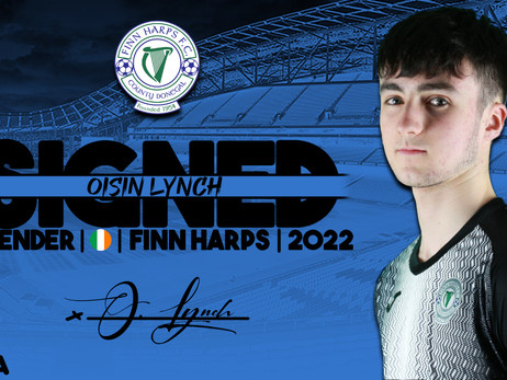 Welcome: Oisin Lynch