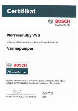 Bosch climate partner
