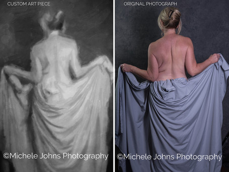 Michele Johns Creates Custom Art Pieces from Photographs