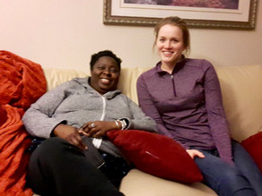 HOMESHARE SPOTLIGHT: Busy Lives and a  Place to Call Home is  What Brought These Two Together.